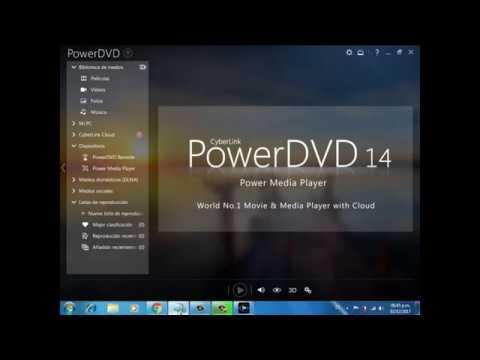 Descargar, instalar y activar power dvd 14