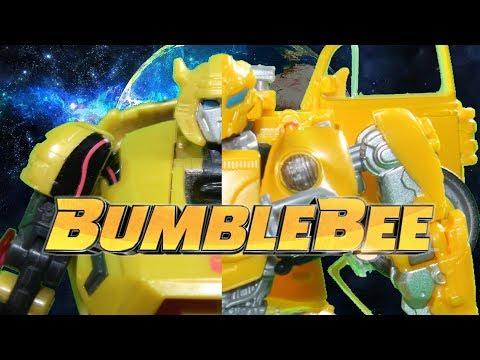 TRANSFORMERS: BUMBLEBEE - BUMBLEBEE VS MEGATRON [STOP MOTION]