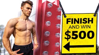 Finish This Obstacle Course And Win $500 (IMPOSSIBLE CHALLENGE)