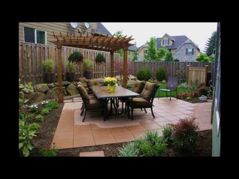 Diseños de jardines para patios pequeños
