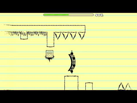 Geometry Dash 2.0 - Paint Out By RockJak460 (Paper Dry Out)