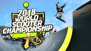 ISA SCOOTER WORLD FINALS 2018 RUNS Jordan Clark vs Dylan Morrison