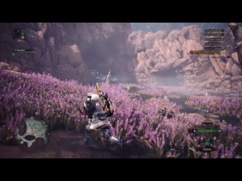 Monster hunter world - Quest 5 - Ancient forest expedition and Horned tyrant below sands