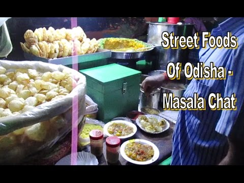 Best Street Foods In Western Odisha , India   Masala Chat