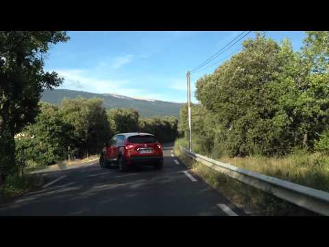 Road to Mont Ventoux in Provence