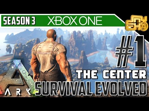"""ARK XB1 """"THE CENTER MAP"""" - S3 EP1 - HAPPY DAYS!!"""