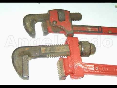 C mo reparar una llave de grifa youtube for Reparar llave de regadera