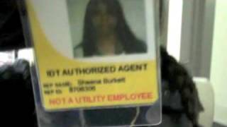 IDT Agents - Refused to Leave My  Building (until the camera came out) - watch with annotations!