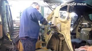 Peugeot.  Body repair. Ремонт кузова.