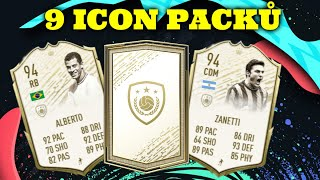 9x ICON PACK |FIFA 20 ULTIMATE TEAM|
