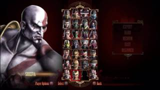 'BottomLineReviewz' - Mortal Kombat 9 - Rosters / Fighters / Characters / Players.