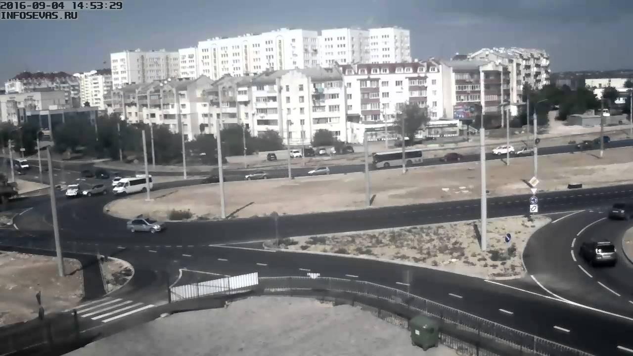 ДТП Бельбек, Севастополь. Лобовое с эвакуатором