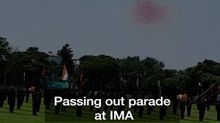 Dehradun: Indian Military Academy conducts passing out parade