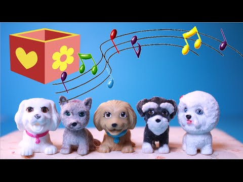 Five little puppies | Bellboxes | Nursery Rhymes | Five little monkeys
