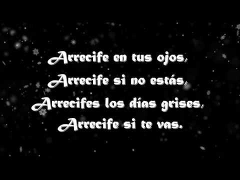 Arrecife Dorian ( letra)