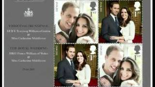Collectors to buy royal wedding stamps