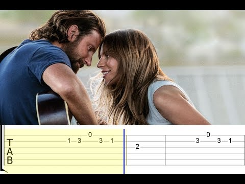 A Star Is Born - Always Remember Us This Way (Lady Gaga) (Easy Guitar Tabs Tutorial)