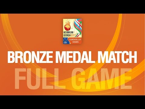 Azerbaijan vs Turkey | BRONZE MEDAL | EUROVOLLEY AZERBAIJAN AND GEORGIA 2017