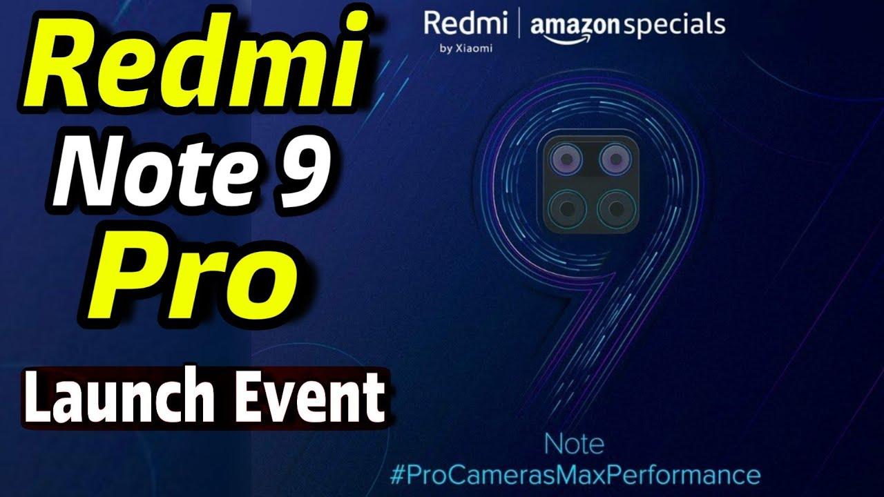 Redmi Note 9 Pro & Redmi Note 9 Pro Max Launch Event