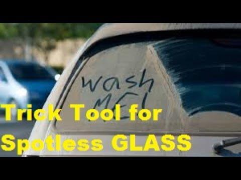 CUSTOM TOOL For SPOTLESS GLASS ! You make the tool !!