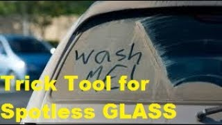 How To Clean the INSIDE of your Cars GLASS with & No Streaks
