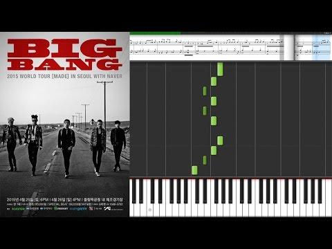 Big Bang - Bang Bang Bang 빅뱅 - 뱅뱅뱅 / Kpop piano sheet music