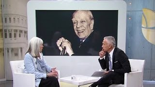 La viuda  Jorge Luis Borges, María Kodama, habla del legado del escritor argentino - Al Punto