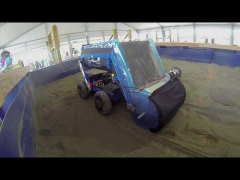 Moon Dirt Diggers: Regolith Mining Competition Results   NASA Space Science HD