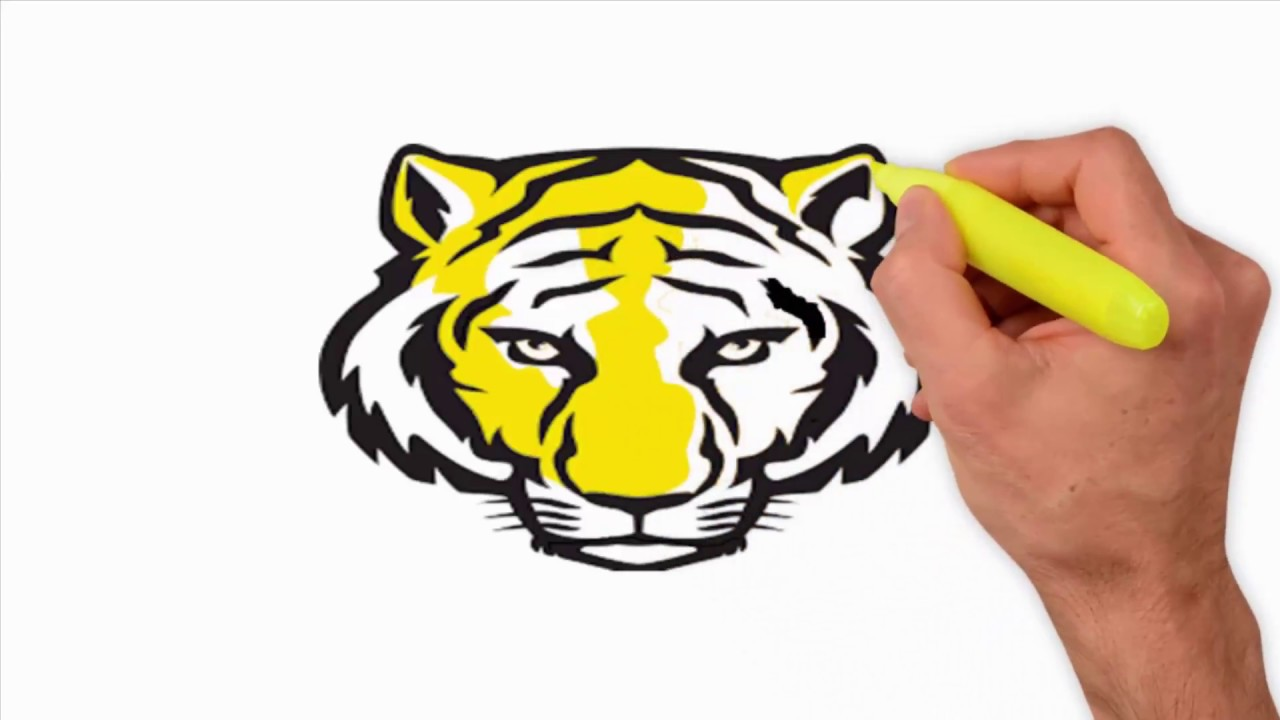 Coloring Pages-How to Draw a Tiger Face  How to Draw a Tiger Face Roaring   How to Draw a Tiger