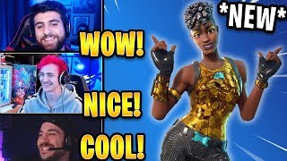 Streamers React to *NEW* Disco Diva Skin! *RARE* | Fortnite Highlights & Funny Moments