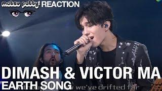 Dimash Andamp Victor Ma - Earthsong  Reaction