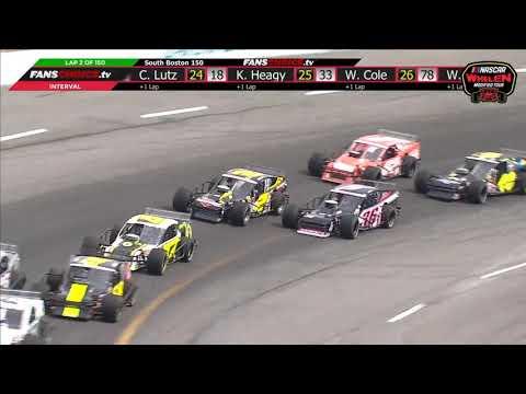 NASCAR Whelen Modified Tour 2019. South Boston Speedway. Full Race
