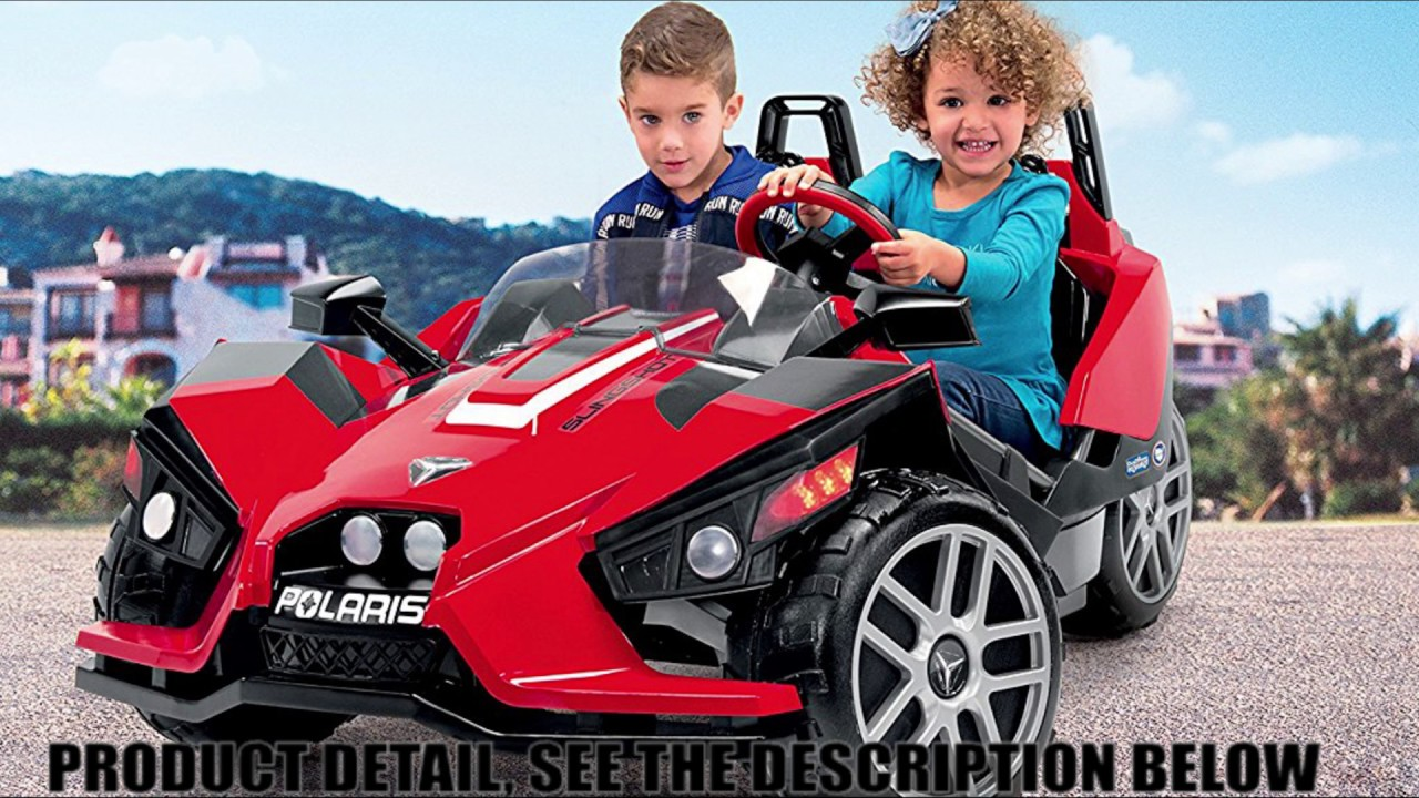 Peg Perego Polaris Slingshot Ride On Power Wheels From Baby Toys