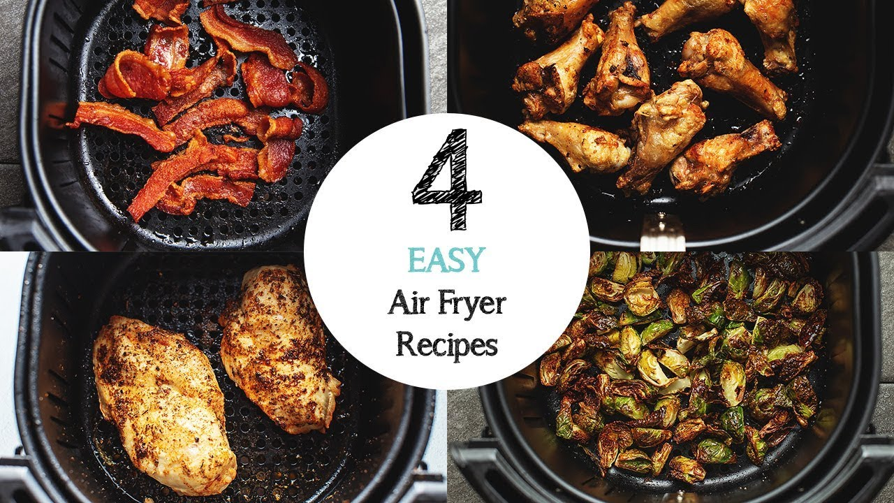 4 Easy Air Fryer Recipes For Beginners Youtube