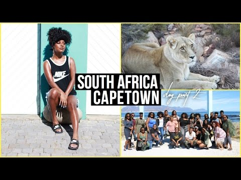 TRAVEL VLOG: SOUTH AFRICA, CAPETOWN   part 2