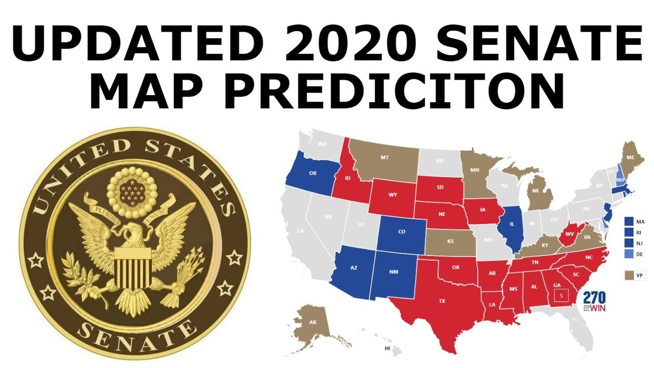 Updated 2020 Senate Prediction (July 11, 2020)