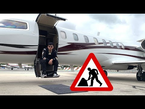 GOING TO WORK IN A PRIVATE JET!