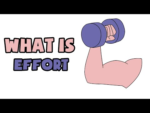 What is Effort | Explained in 2 min