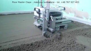 Floor Master Cłapa - maszyny budowlane - tel. +48 787 927 403