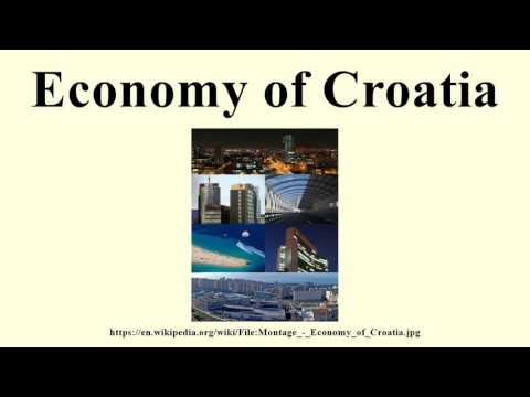 Economy of Croatia