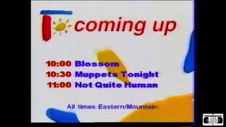 Family Channel Coming Up Bumper - 1998