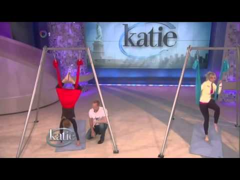 AntiGravity® Aerial Yoga on Katie Couric with Chelsea Handler