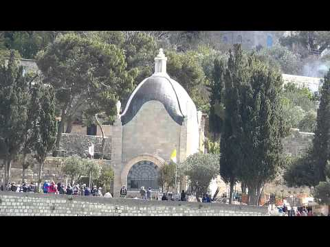 Israel - Jerusalem - Mount Olives - Dominus Flevit Church