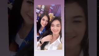 Gambar cover Adella live SMK Bina Utama Kendal Arlida Putri vs Fira Azahra