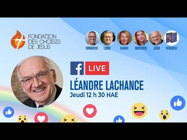 Facebook Live quotidien 17/06/2021 - Vivre ce pourquoi nous sommes créés