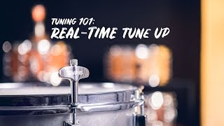 Real-Time Snare Batter Tuning   Snare Drum Tuning 101