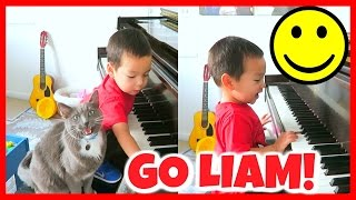 CUTEST TODDLER PIANO PERFORMANCE!