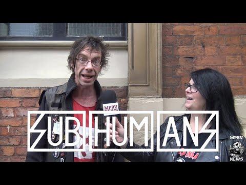 Dick Lucas - SUBHUMANS - Interview & Live Footage April 2017 (Part 1 of 2) -  MPRV News