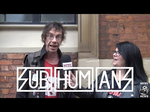 Dick Lucas - SUBHUMANS - Interview & Live Footage April 2017 (Part 1 of 2) -  MPRV News