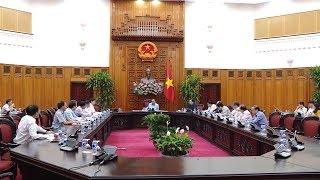 Tin Tức 24h : Thủ tướng Nguyễn Xuân Phúc họp rút kinh nghiệm và khắc phục hậu quả sau lũ
